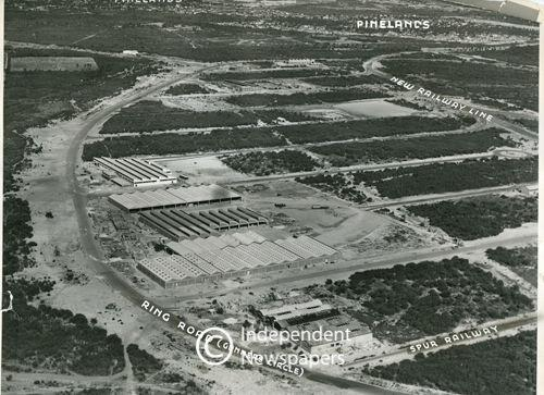 Aerial Photograph Epping Industria 1951