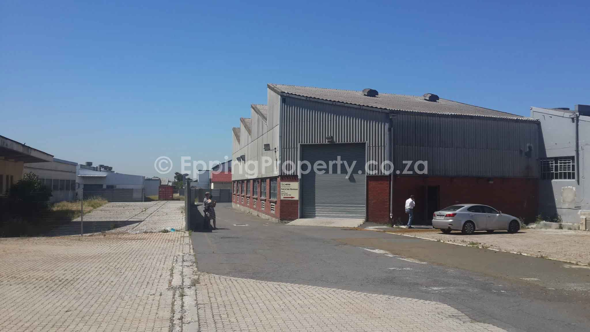 Industrial premises to let in Ndabeni