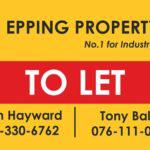 To Let in Epping