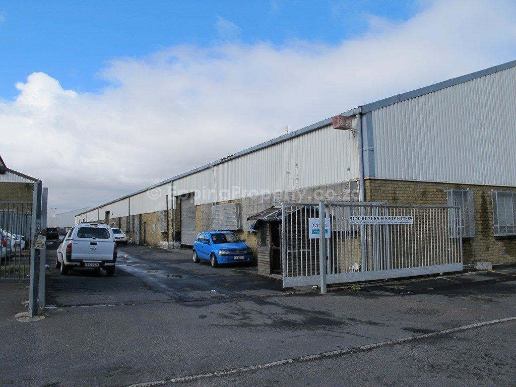 Industrial Property to Let Epping Cape Town