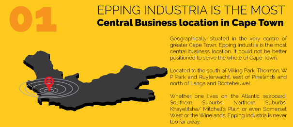 Epping Industria is the most central business location