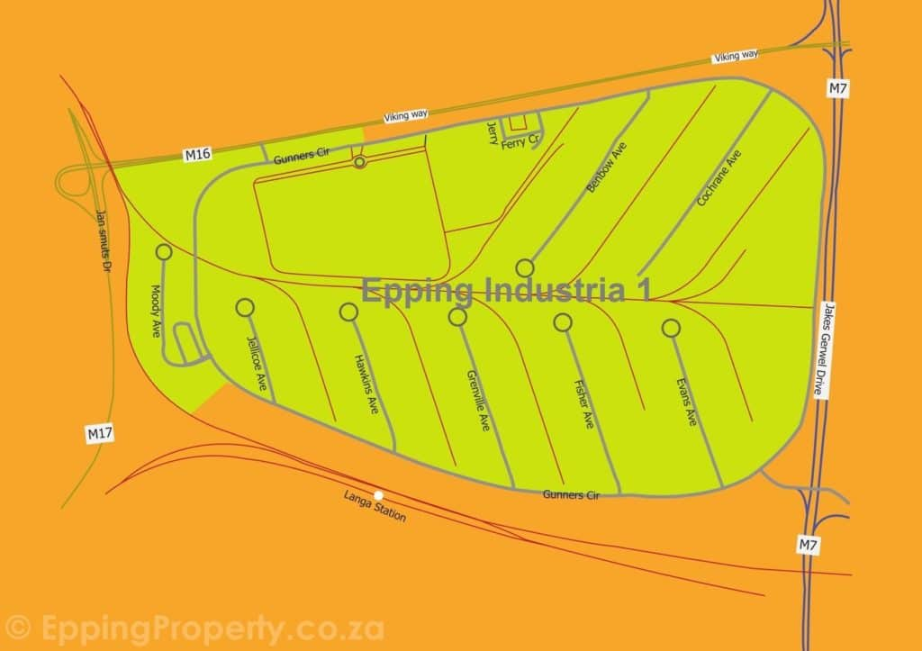 Map of Epping Industria 1